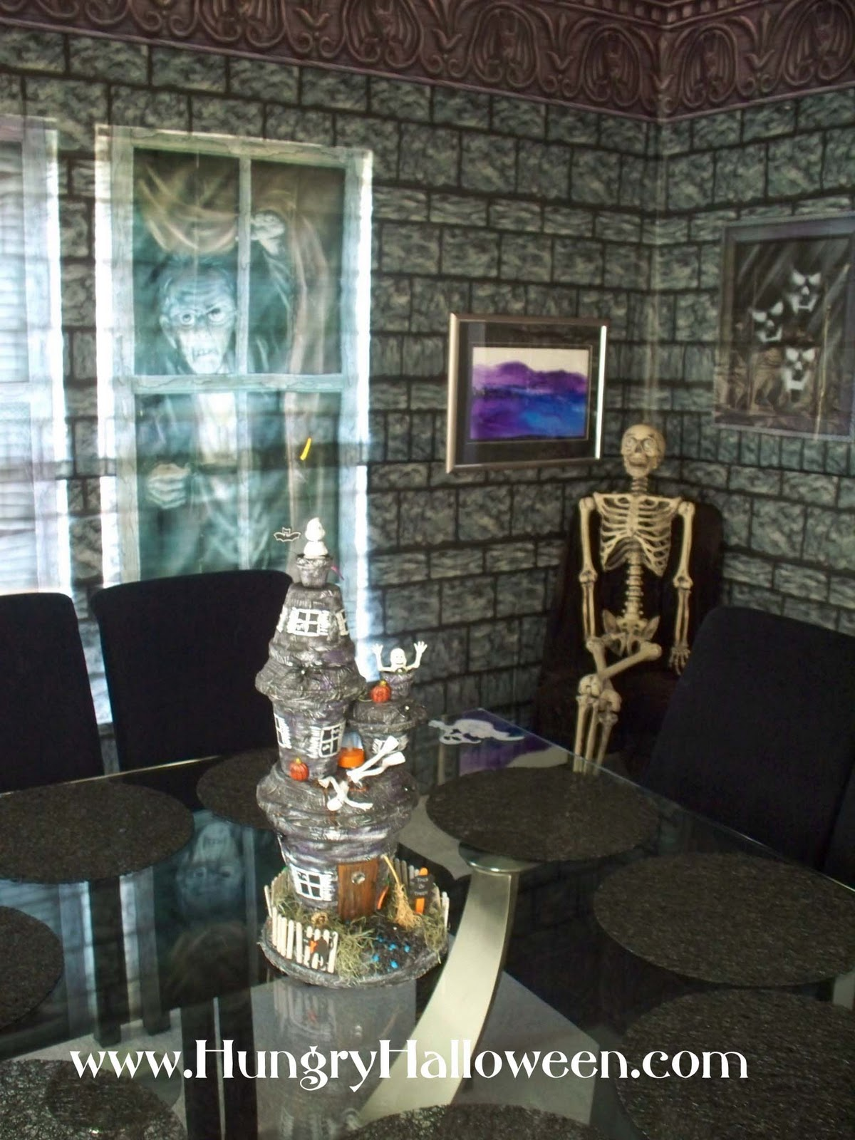 Our Haven Transformations Haunted House Ideas