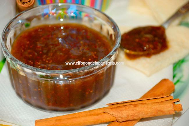 Receta de mermelada de higos casera con azúcar moreno