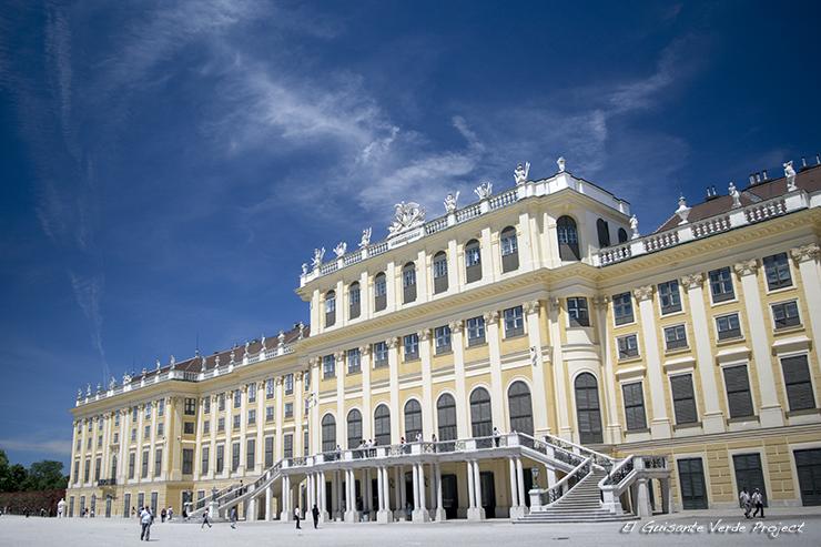 Fachada Palacio Schönbrunn - Viena por El Guisante Verde Project