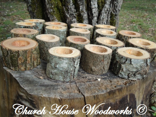 Church house collection wood slices for sale