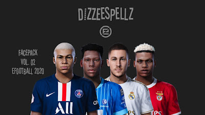 PES 2020 Facepack V2 by DizzeeSpellz