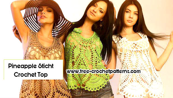 Pineapple Crochet Top Pattern Images Knitting Patterns Free Download