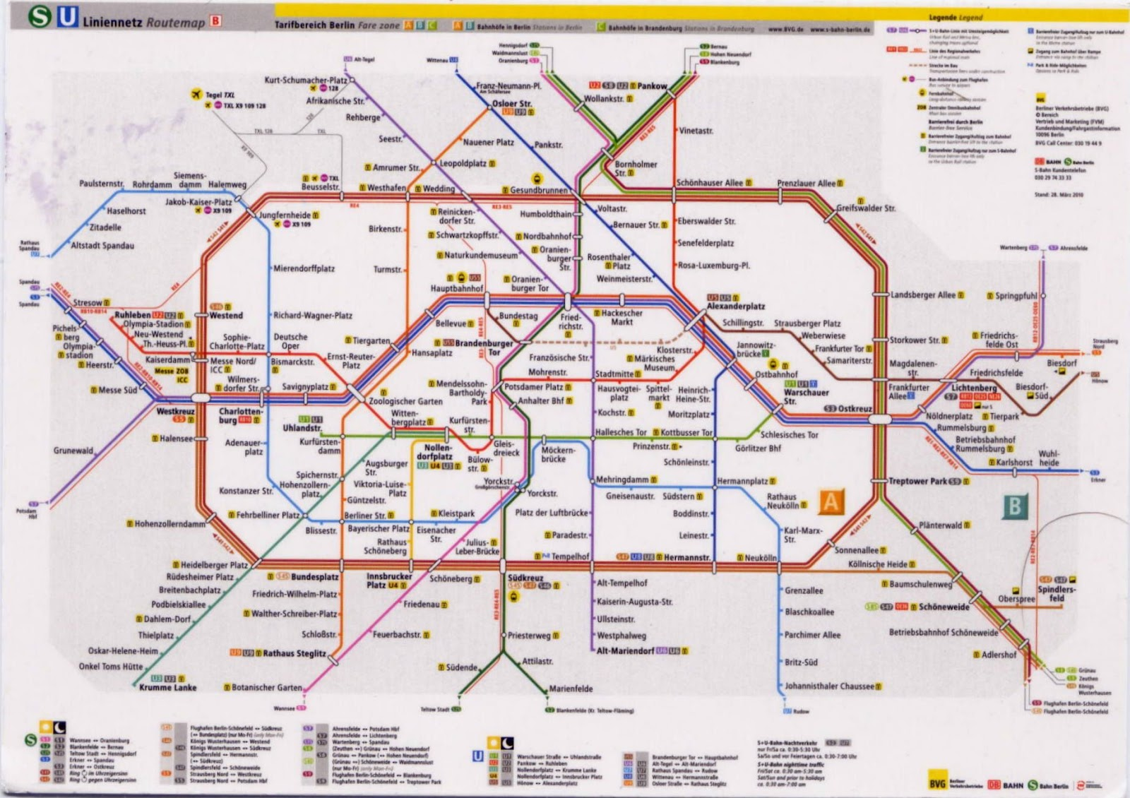 Bekannte Petites fenêtres sur le Monde: Berlin U-Bahn LF51