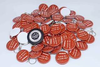 Jual Gantungan Kunci Pin Cocok Untuk Souvenir Termurah