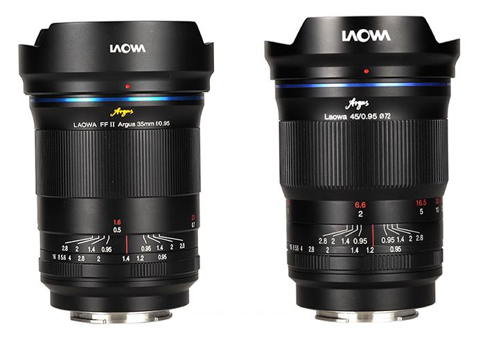 Объективы Laowa 35mm f/0.95 и 45mm f/0.95