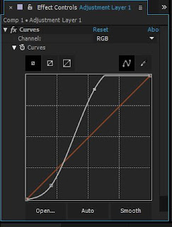 Color Correction Curve After Effects Tutorial