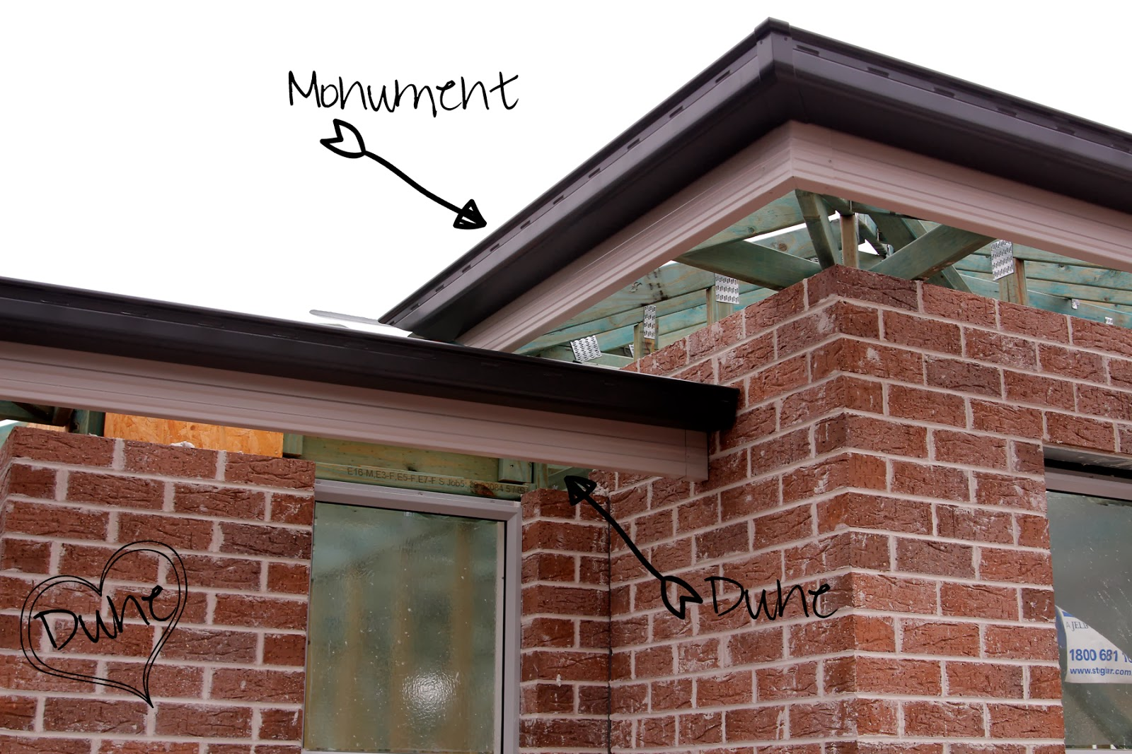 Building Our House And Making It A Home Gutter Amp Fascia