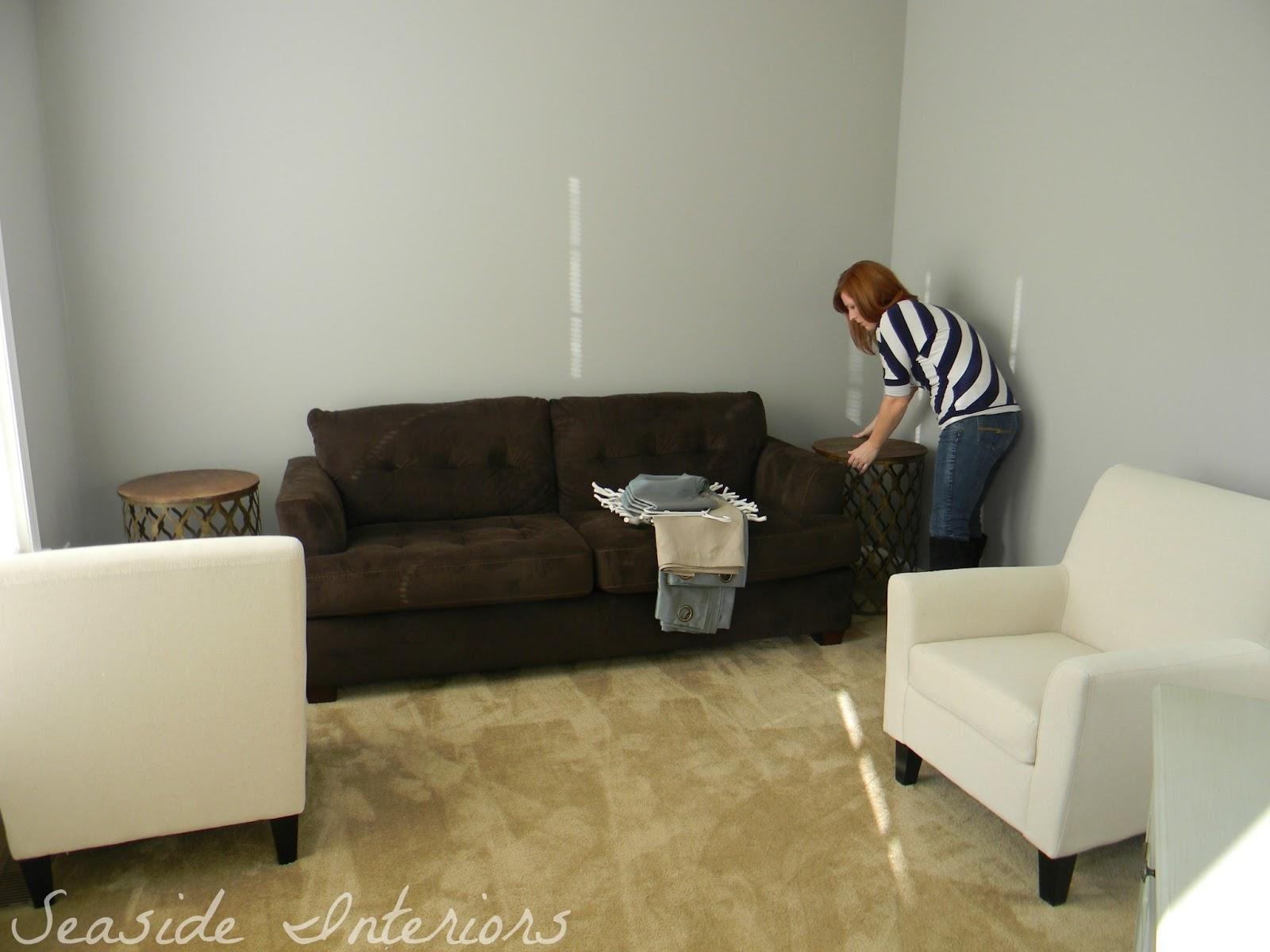 Brilliant Seaside Interiors Contemporary Living Room Reveal Start To Dailytribune Chair Design For Home Dailytribuneorg