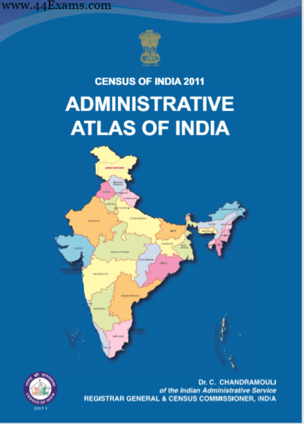 Census-of-India-2011-Administrative-Atlas-of-India-For-UPSC-Exam-PDF-Book