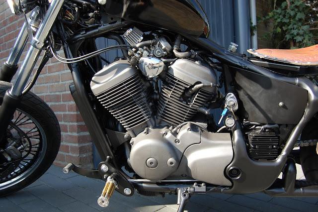 Honda Shadow By NL Bobbers Hell Kustom