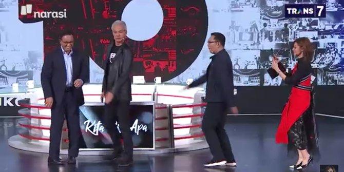 Aksi Kocak Tiga Gubernur Main Tiktok, Ekspresi Ganjar Pranowo Bikin Salfok