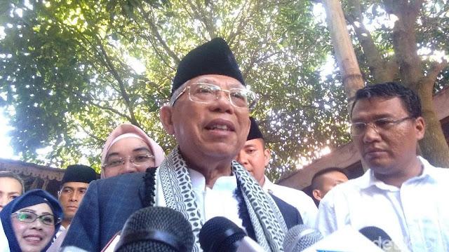 Prabowo Serang Kartu Jokowi, Ini Kata Ma'ruf Amin