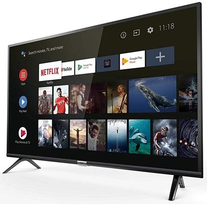 TCL 40ES560: Smart TV FHD de 40'' con Android TV 8.0 y triple sintonizador digital