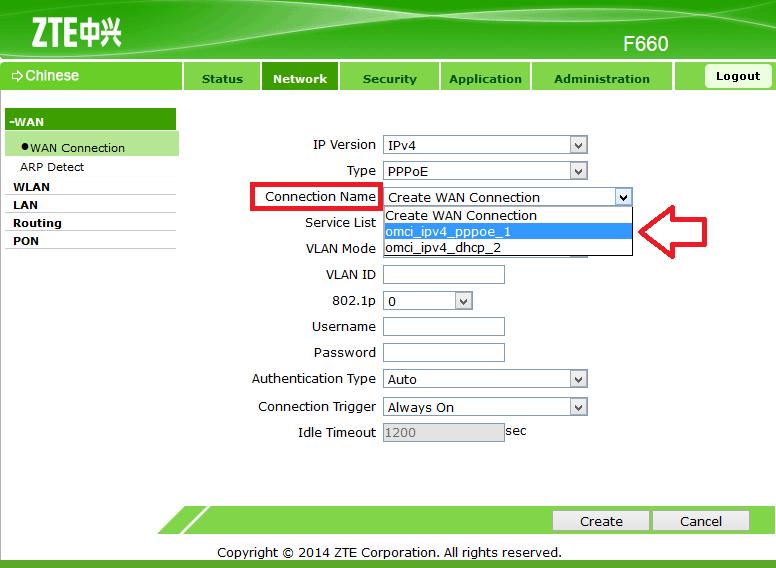 Tips Cara Mengetahui Nomor Internet Indihome Zte F609 mudah