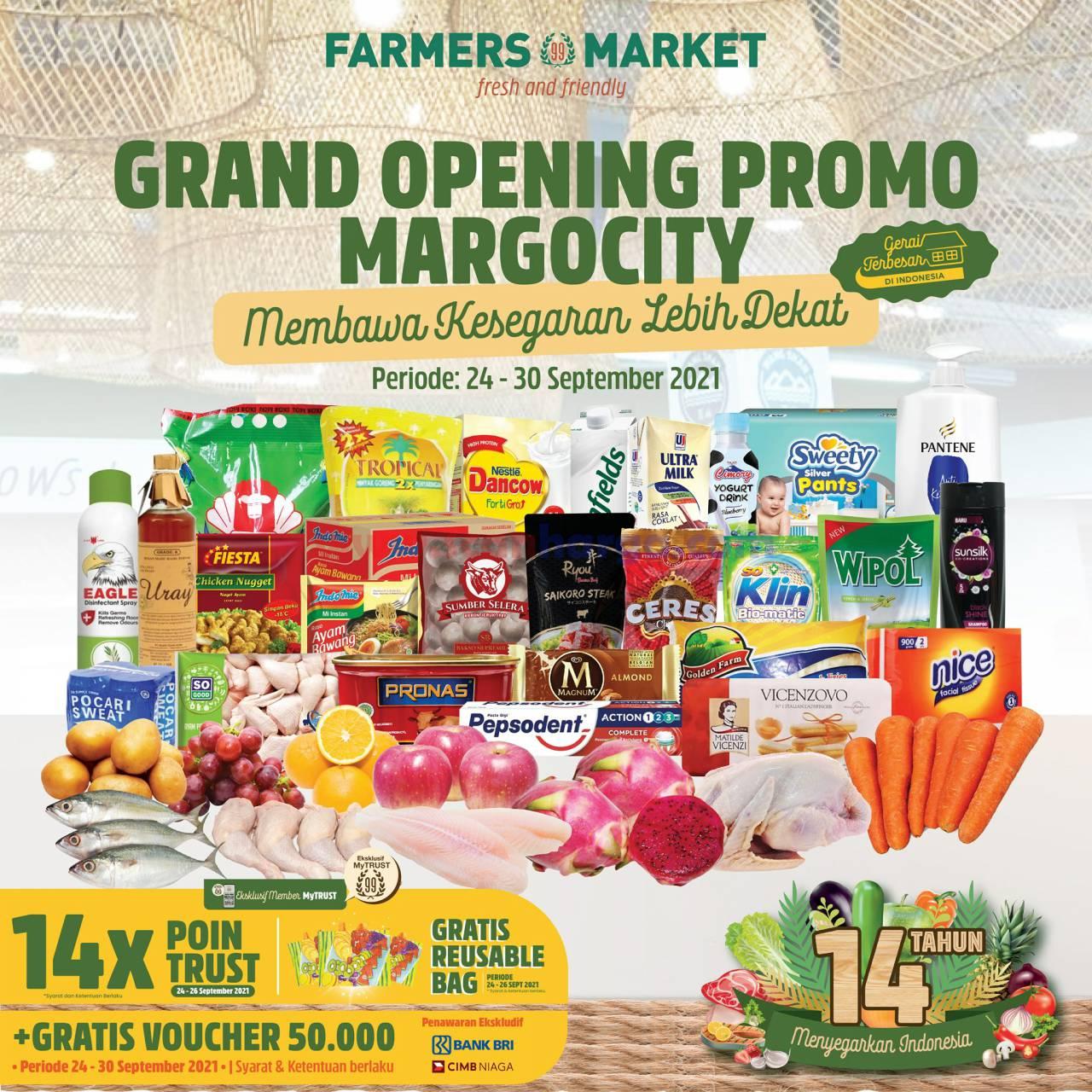 Farmers Market Margo City Depok Promo Grand Opening