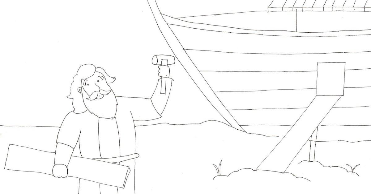 Gambar Catatan Sigal Cerita Bergambar Sekolah Minggu Nabi Nuh Bahtera