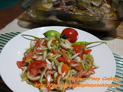 Paho, Paho Salad with Fish