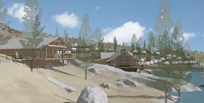 Berkeley Tuolumne Camp site view