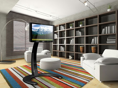 Modern LCD TV stands with beautiful design from Paxton - Furniture