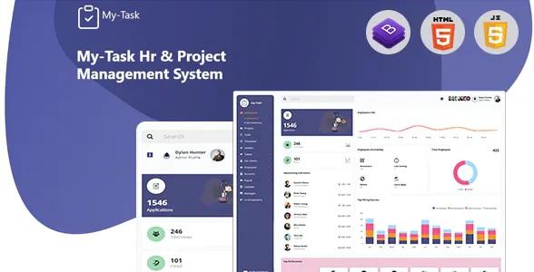 Best HR, Project Management Admin Template