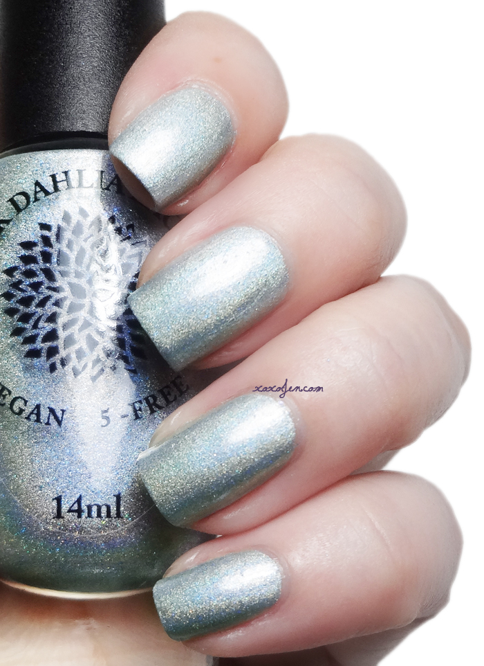 xoxoJen's swatch of Black Dahlia Magical Moss