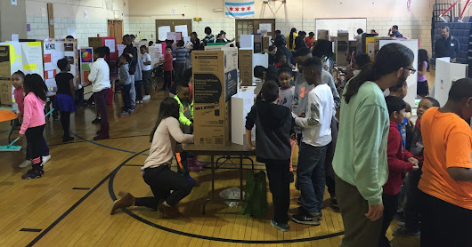Suder Montessori holds school Invention Convention!