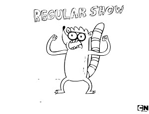regular show printable coloring pages - photo#20