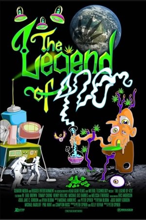 Poster The Legend of 420 2017