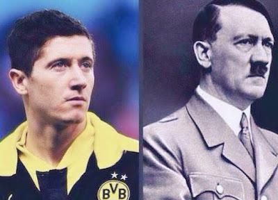 ليفاندوفسكي هتلر