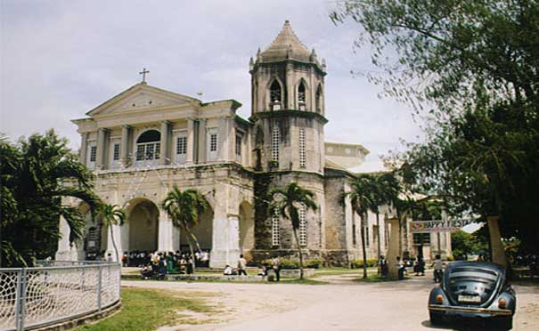 One of the World Oldest Famous Historical Churches in Bohol Philippines 2018 Dauis Church