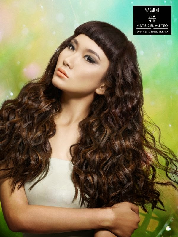 contoh desain poster beauty salon kecantikan hair stylist style design kapter therapist brand merek perawatan rambut jenis macam treatment spa creambath shampo cewek model cakep sexy