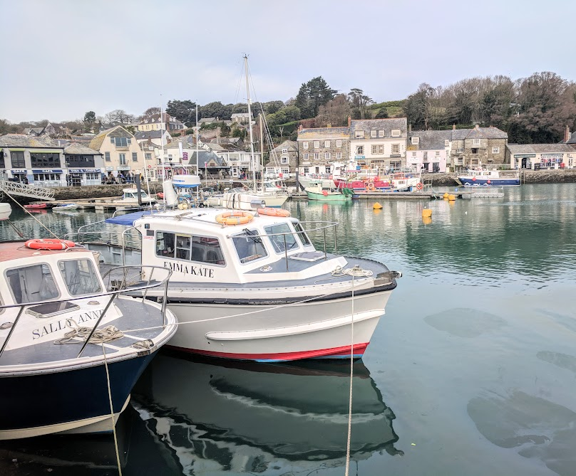 A Morning in Padstow : What to do with Kids  - boats in the harbour