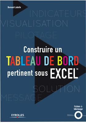 Construire un tableau de bord pertinent sous Excel - Bernard Lebelle