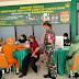 Babinsa Teluk Pakedai Dampingi Purnawirawan Vaksinisasi