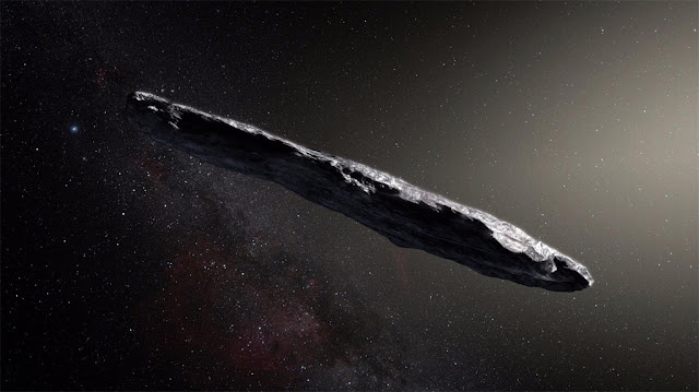 Oumuamua - objeto interestelar - ESO
