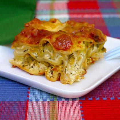 Slow Cooked Veggie Lasagna