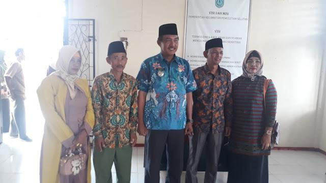 Sarwo Edi Resmi Jabat Pjs Kades Maju Jaya