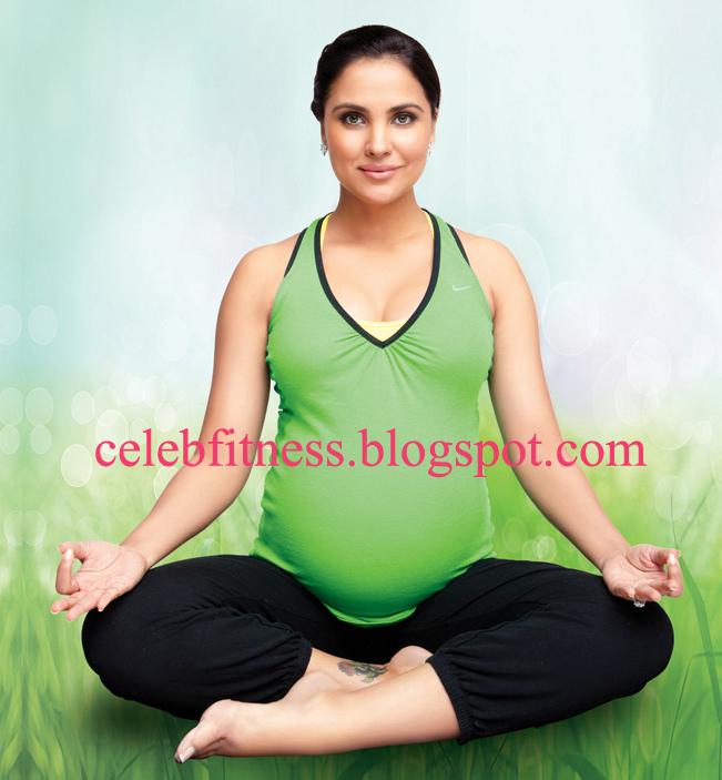 Yoga Mom Nude