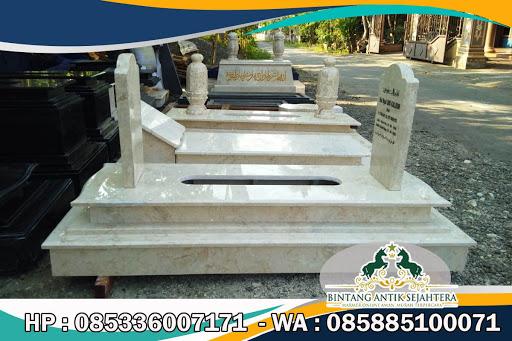 Kijing Makam Marmer, Gambar Makam Marmer Minimalis, Makam Marmer Tulungagung