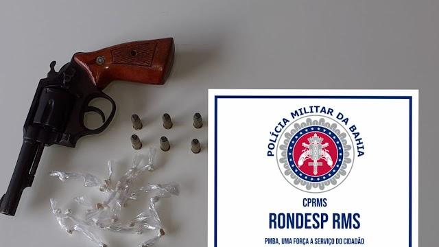 Traficante é preso em flagrante por equipes da Rondesp RMS