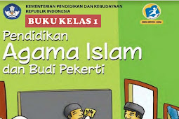 Download Buku PAI Kelas 1 Kurikulum 2013 SD/MI Revisi 2017