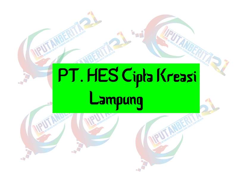 Loker Lampung Di PT. HES Cipta Kreasi Terbaru Mei 2021