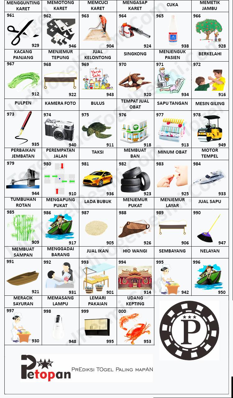 Buku Mimpi 3D Bergambar 961-000