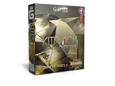 PES 2016 New KitPack National AIO Update v3.9 by G-Style