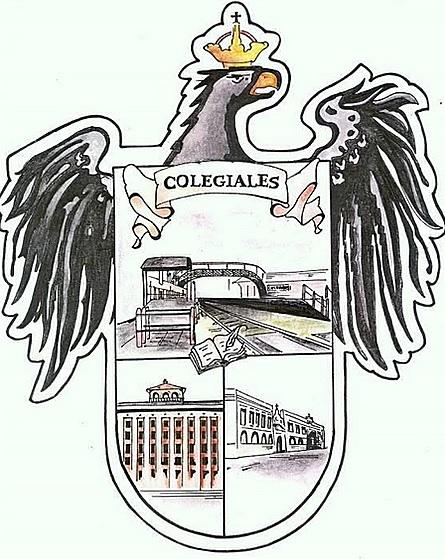 El escudo del barrio de Colegiales