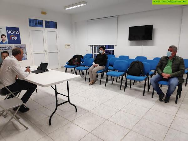 El PP de La Palma comienza la ronda de reuniones de coordinación de políticas Insulares