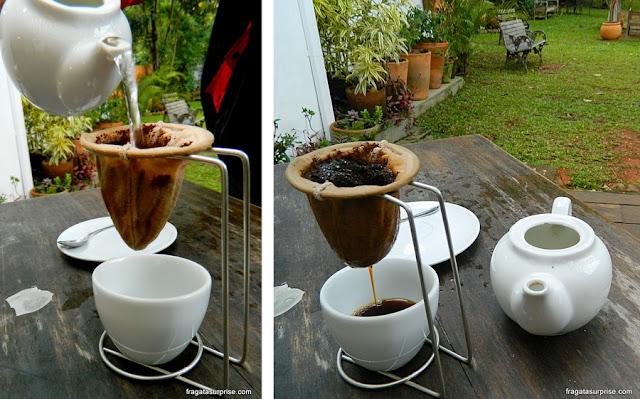 Café Marcas Mineiras, em Tiradentes, Minas Gerais