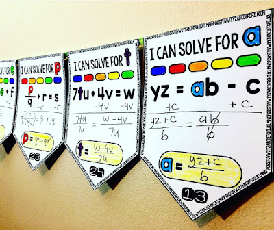 Literal equations math pennant