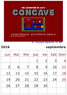 Calendario 2016 homenaje a los desarrolladores de Amstrad CPC