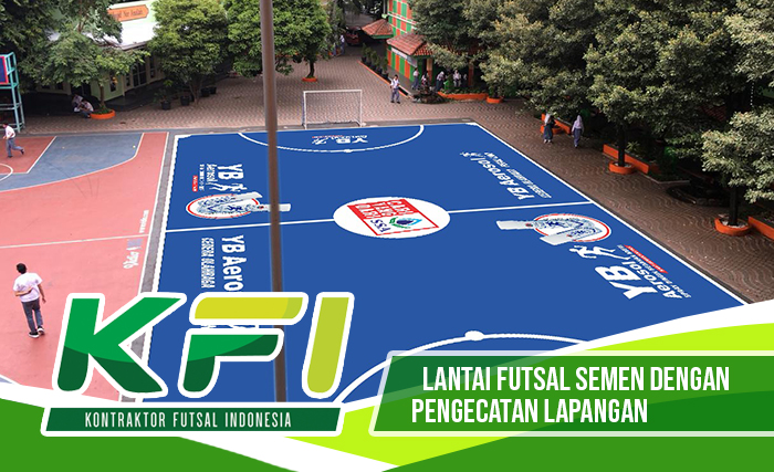 Lantai Futsal Semen